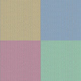 4 seamless knit patterns Stock Photos