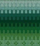 Seamless knit sweater pattern_4 Royalty Free Stock Photo