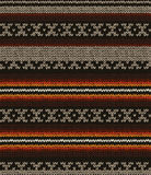 Seamless knit sweater pattern Royalty Free Stock Photography