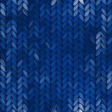 Seamless knitted abstract pattern Royalty Free Stock Photography