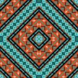 Seamless knitted navajo pattern Stock Photo