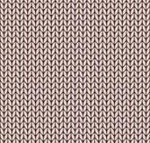 Seamless knitted pattern Stock Image