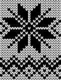 Seamless knitted pattern Stock Photos
