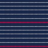 Seamless knitted pattern with red white stripes Royalty Free Stock Photo