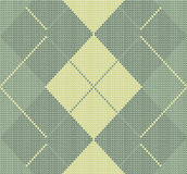 Seamless knitted pattern. Rhombuses. Stock Photo