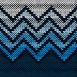 Seamless knitted pattern Stock Photo
