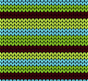 Seamless knitted pattern vector Stock Image