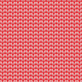 Seamless knitted pattern. Woolen cloth. Knit texture. Vector Illustration. Royalty Free Stock Photo