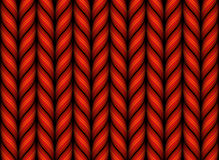 Seamless knitted pattern. Knitted woolen fabric pattern. Gradient Mesh. EPS10 Stock Image