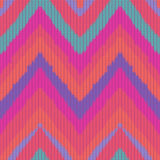 Seamless knitted zigzag pattern Royalty Free Stock Photo