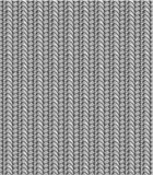 Seamless knitting pattern, shades of gray. Knitted texture easy tilable (you see 8 tiles) background (or seamless wallpaper, repeat pattern, repeatable swatch stock illustration