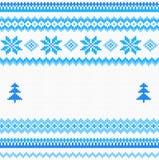 Seamless knitting pattern Royalty Free Stock Photo