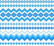Seamless knitting pattern Stock Image