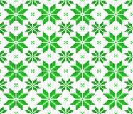 Seamless knitting pattern Stock Photo