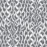Seamless knitting pattern Stock Photos