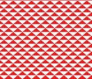 Seamless knitting triangle pattern Stock Image