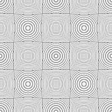 seamless kontrollerad geometrisk modell Linjer texturerar på vit bakgrund royaltyfri illustrationer