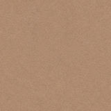 Seamless kraft paper texture, recycled cardboard vintage style Stock Photography
