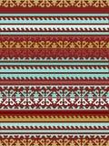 Seamless Kyrgyz national ornament pattern Royalty Free Stock Photo