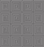 Seamless Labyrinth Background. Black and white seamless background Royalty Free Illustration