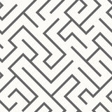 Seamless labyrinth pattern Stock Photography