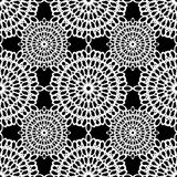 Seamless lace background Stock Photography