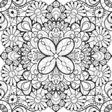 Seamless lace background Royalty Free Stock Image