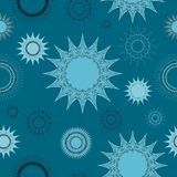 Seamless lace background pattern Stock Photos