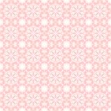 Seamless lace background on pink Stock Photo