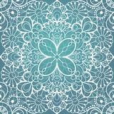 Seamless lace background Stock Images
