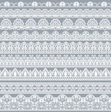 Seamless lace border Royalty Free Stock Images