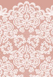 Seamless lace border Royalty Free Stock Image