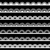 Seamless lace border Stock Image
