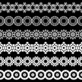 Seamless lace border Stock Photography