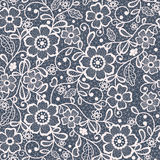 Seamless lace floral background. Seamless abstract lace floral background Royalty Free Stock Photography
