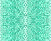 Seamless lace mint color Stock Photography