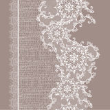 Seamless lace pattern Stock Photo