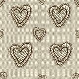 Seamless lace pattern Stock Image