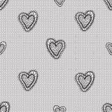 Seamless lace pattern Stock Photography