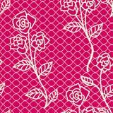 Seamless lace pattern Royalty Free Stock Photo