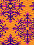 Seamless  lace pattern. Seamless  colorful ornamental pattern. ink illustrated floral elements which form symmetrical shapes, elegant lace design, in ethnic Stock Photos