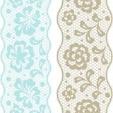 Seamless lace pattern, flower vintage vector Stock Photography