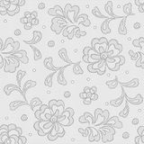 Seamless lace pattern, flower vintage vector Stock Photos