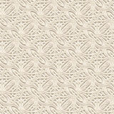 Seamless lace pattern in neutral color Stock Images