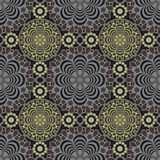 Seamless lace pattern print background Royalty Free Stock Photography
