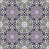 Seamless lace pattern print background Stock Photography