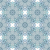Seamless lace pattern print background Royalty Free Stock Photo