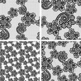 Seamless lace pattern Stock Photo