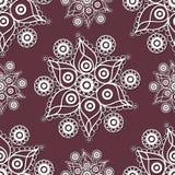 Seamless lace pattern 1 Stock Photos