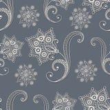 Seamless lace pattern 8 Stock Photo